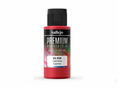Vallejo Premium AirBrush Color, 62.006, Пунцовая, 60 мл