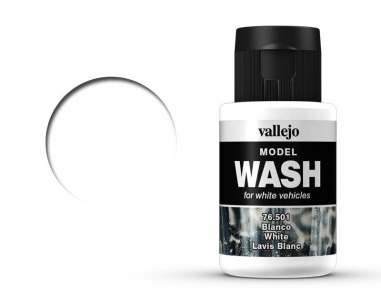 Vallejo Model Wash, 76.501, Проливка Белая, 35 мл
