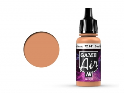Vallejo Game Air, 72.741, Dwarf Skin, Цвет кожи гнома, 17 мл