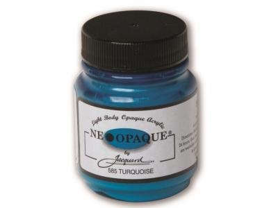Jacquard Neopaque Color, JAC585, Укрывистая бирюзовая, 67 мл