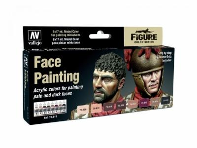 Набор красок Face Painting для кисти, 70.119