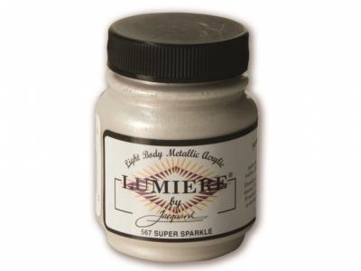 Jacquard Lumiere Color, JAC567, Ярко-белый перламутр, 67 мл
