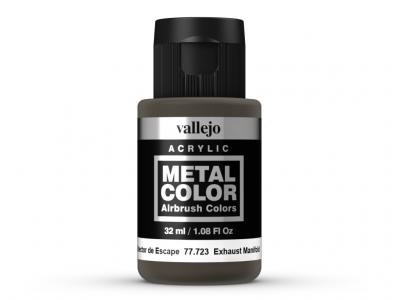 Vallejo Metal Color, 77.723, Металлик, цвет выхлопа реактивного двигателя, 32 мл