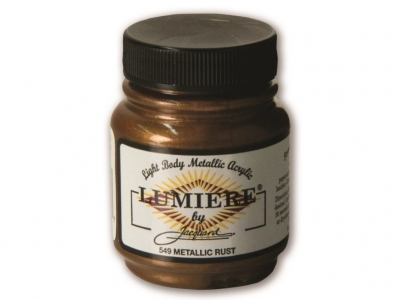 Jacquard Lumiere Color, JAC549, Металлик ржавчина, 67 мл