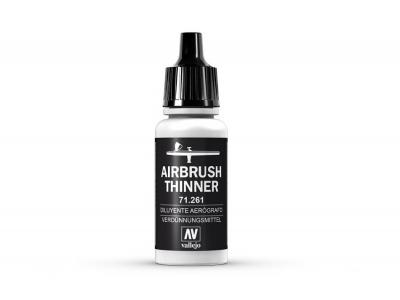Vallejo Airbrush Thinner, 71.261, Разбавитель, 17 мл