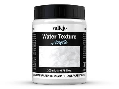 Vallejo Diorama Effects Transparent Water, 26.201, прозрачная вода, 200 мл