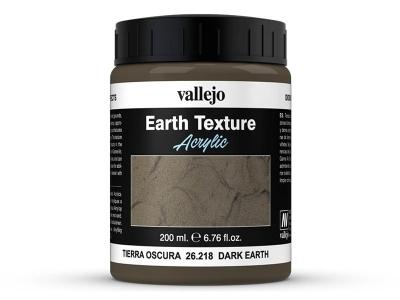 Vallejo Diorama Effects Dark Earth, 26.218, тёмная мокрая земля, 200 мл