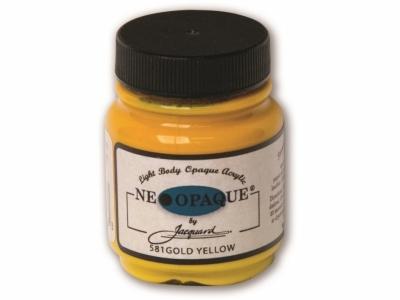 Jacquard Neopaque Color, JAC581, Укрывистая золотисто-жёлтая, 67 мл