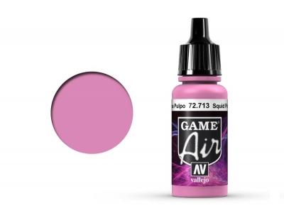 Vallejo Game Air, 72.713, Squid Pink, Розовый, 17 мл