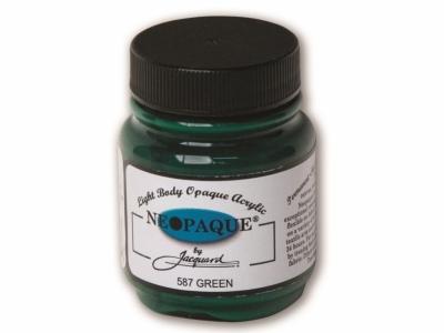 Jacquard Neopaque Color, JAC587, Укрывистая зелёная, 67 мл