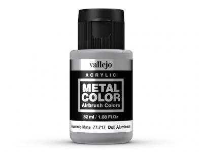 Vallejo Metal Color, 77.717, Металлик Матовый алюминий, 32 мл