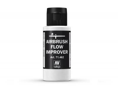 Vallejo Airbrush Flow Improver, 71.462, Замедлитель высыхания, 60 мл