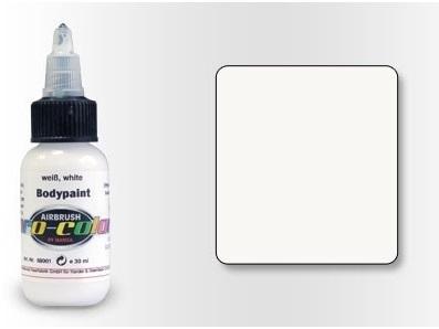 Pro-Color Bodypaint Белая, 30 мл