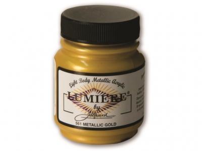 Jacquard Lumiere Color, JAC561, Металлик золото, 67 мл