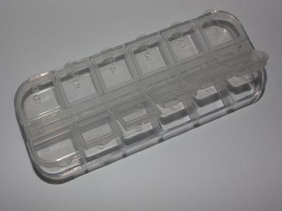 Контейнер Jas 9033, 12 отделений, пластик
