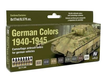 Набор красок German Colors 1940-1945 для аэрографа, 71.206