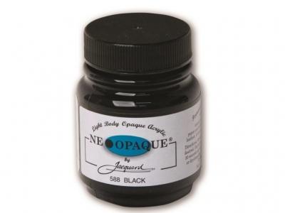 Jacquard Neopaque Color, JAC588, Укрывистая чёрная, 67 мл