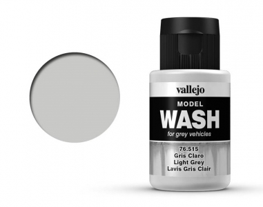 Vallejo Model Wash, 76.515, Проливка Светло-серая, 35 мл