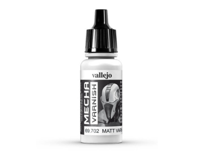 Vallejo Mecha Color Matt Varnish, 69.702, Матовый лак, 17 мл