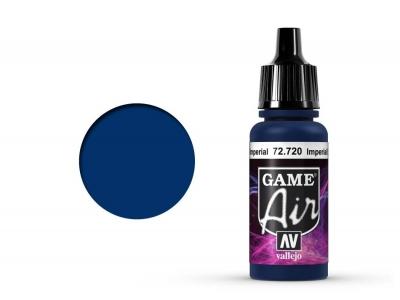 Vallejo Game Air, 72.720, Imperial Blue, Имперский синий, 17 мл