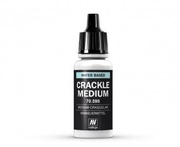 Vallejo Crackle Medium, 70.598, Средство для кракелюра, 17 мл