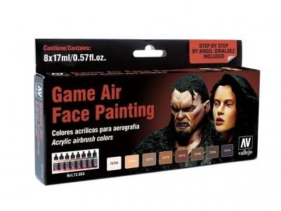 Набор красок Face Painting для аэрографа, 72.865