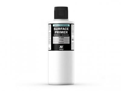 Vallejo Surface Primer, 74.600, Белый грунт, 200 мл