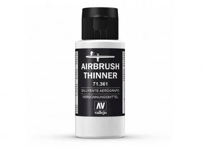 Vallejo Airbrush Thinner, 71.361, Разбавитель, 60 мл