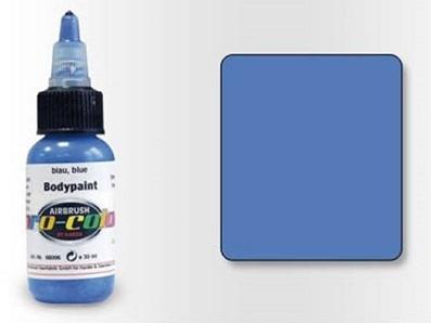 Pro-Color Bodypaint Синяя, 30 мл