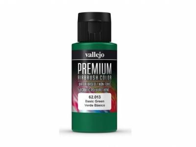 Vallejo Premium AirBrush Color, 62.013, Зелёная, 60 мл