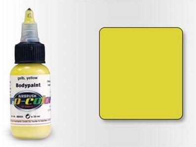 Pro-Color Bodypaint Жёлтая, 30 мл
