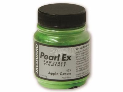 Перламутровый пигмент Jacquard Pearl Ex, JPX635, Зелёное яблоко, 14,17 г