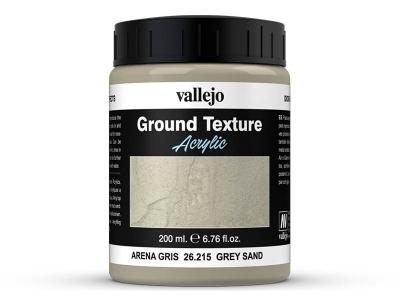 Vallejo Diorama Effects Grey Sand, 26.215, серые дюны и скалы, 200 мл