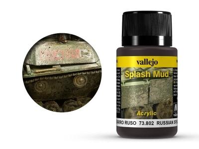 Vallejo Weathering Russian Splash Mud, 73.802, брызги чернозёма В. Европы, 40 мл