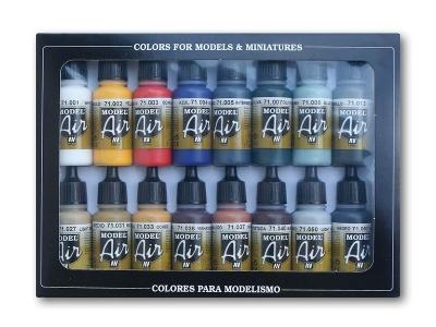 Набор красок Basic Colors для аэрографа, 71.178