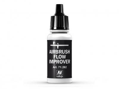 Vallejo Airbrush Flow Improver, 71.262, Замедлитель высыхания, 17 мл