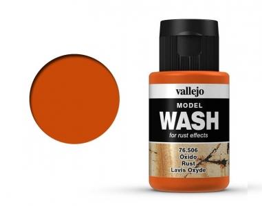 Vallejo Model Wash, 76.506, Проливка Ржавчина, 35 мл