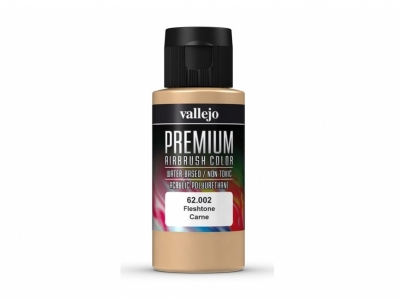 Vallejo Premium AirBrush Color, 62.002, Телесная, 60 мл