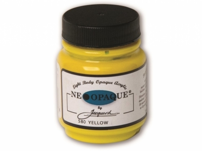 Jacquard Neopaque Color, JAC580, Укрывистая жёлтая, 67 мл