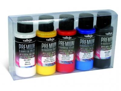 Набор красок Opaque Basics Set для аэрографа, 62.101