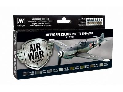 Набор красок Luftwaffe Colors 1941 to End-War для аэрографа, 71.166