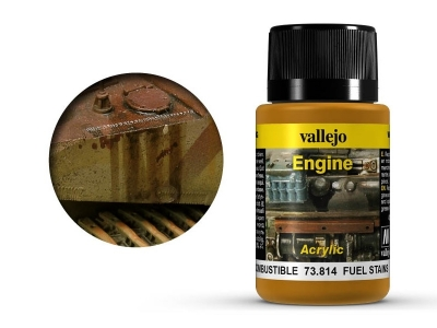 Vallejo Engine Fuel Stains, 73.814, следы бензина, 40 мл