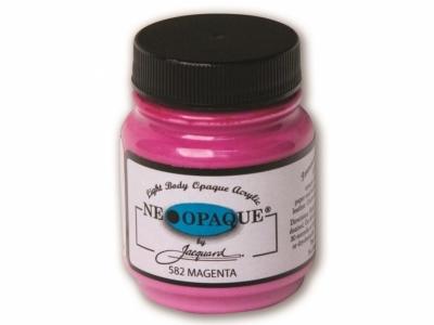 Jacquard Neopaque Color, JAC582, Укрывистая маджента, 67 мл