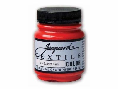 Jacquard Textile Color, JAC105, Скарлет, 67 мл