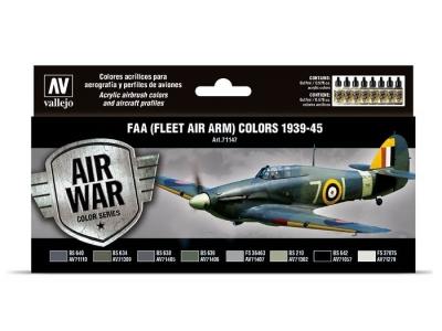 Набор красок FAA (Fleet Air Arm) colors 1939-1945 для аэрографа, 71.147