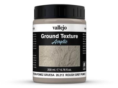 Vallejo Diorama Effects Rough Grey Pumice, 26.213, серые скалы и стены, 200 мл