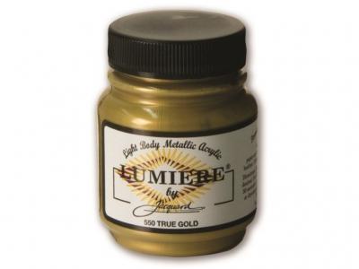 Jacquard Lumiere Color, JAC550, Металлик насыщенное золото, 67 мл