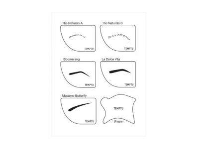 Airbrow Stencils & Shaper