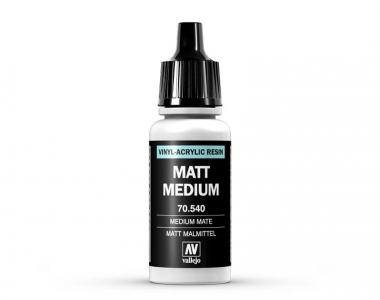 Vallejo Matt Medium, 70.540, Матовый медиум, 17 мл