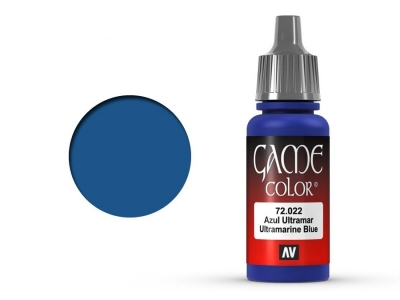 Vallejo Game Color, 72.022, Ultramarine Blue, Ультрамарин, 17 мл